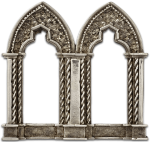 Arches brooch