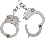 Handcuffs brooch